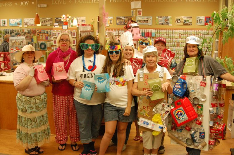 Beach scrapbooks staff nsd 2009